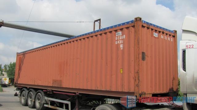 40-ка футовый контейнер